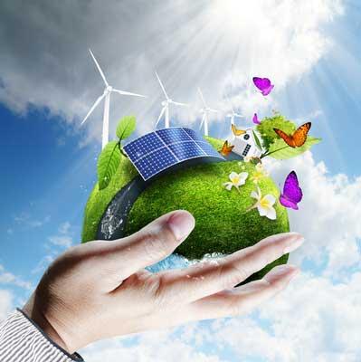 Solare Weltwirtschaft der richtige Weg