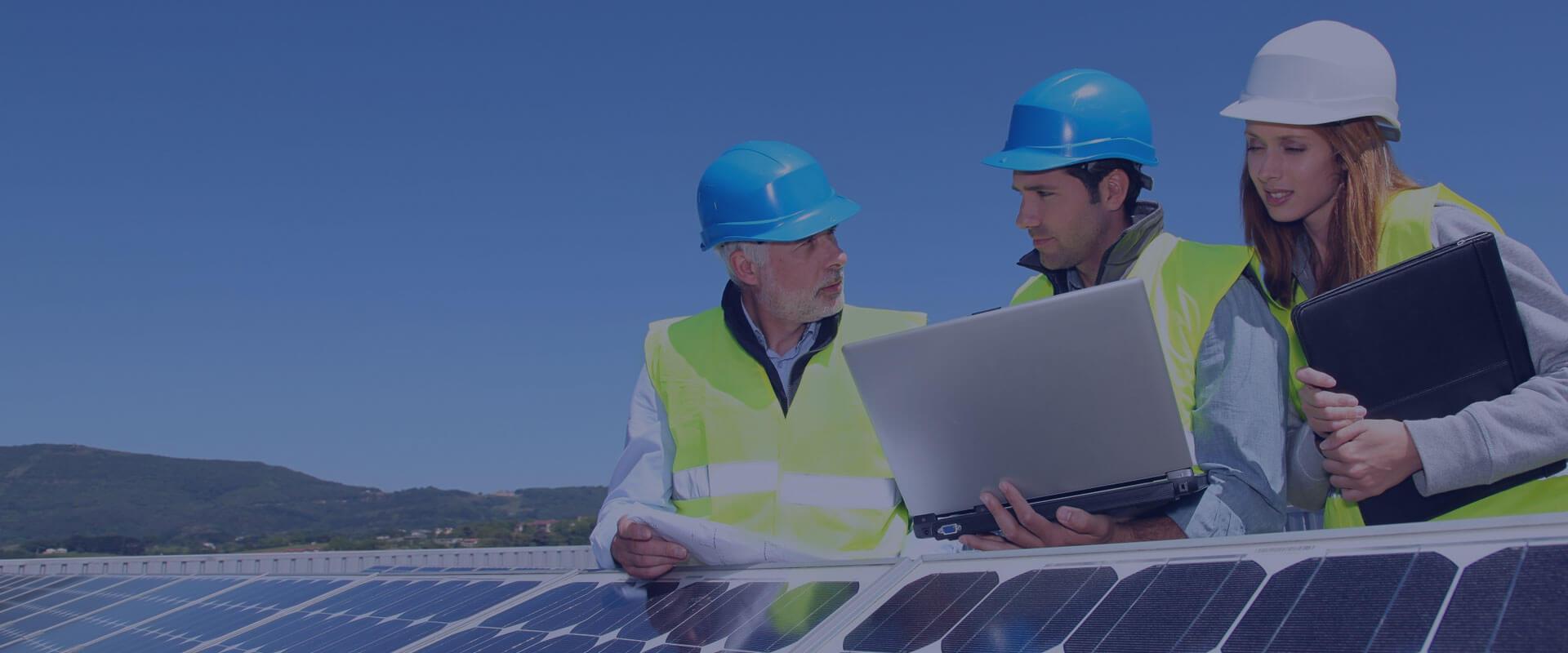 Energieerzeugung durch Solarstrom, einfach clever